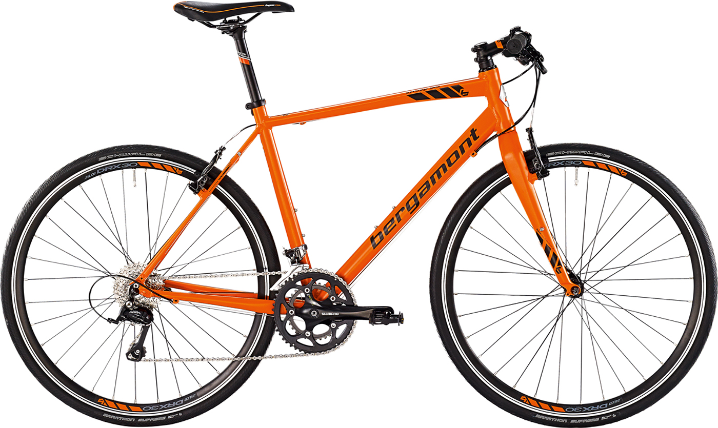 bergamont sweep 6 0 fitness bike fahrrad orange schwarz. Black Bedroom Furniture Sets. Home Design Ideas