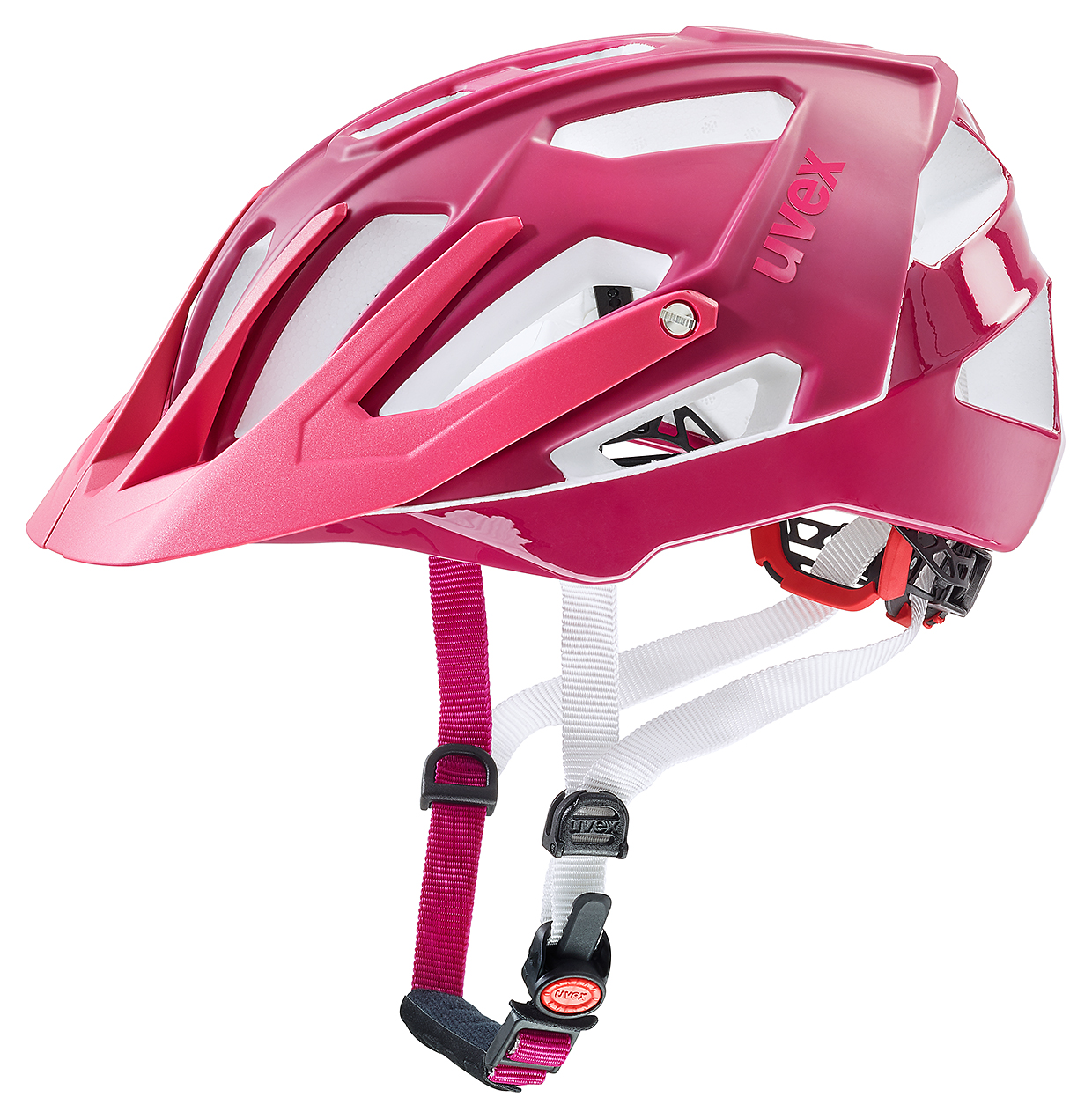 uvex quatro damen mtb fahrrad helm gr 52 57cm pink 2018. Black Bedroom Furniture Sets. Home Design Ideas