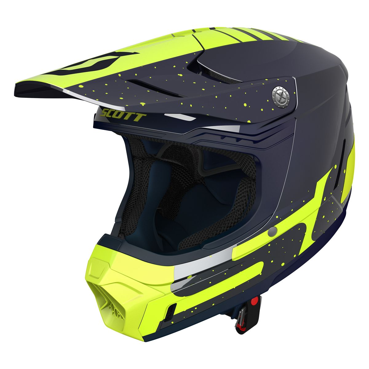 scott 350 evo plus team mx enduro motorrad bike helm. Black Bedroom Furniture Sets. Home Design Ideas