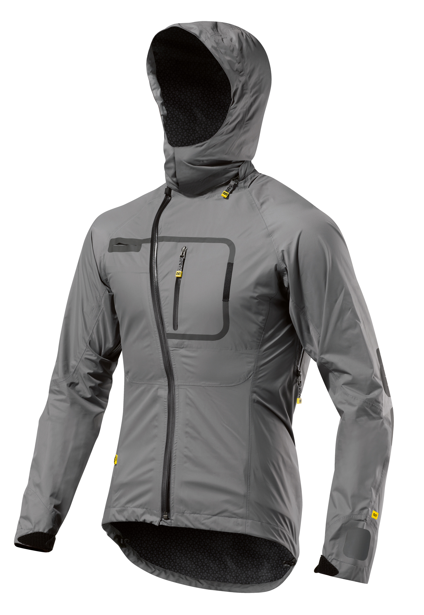 mavic stratos h2o fahrrad regenjacke grau 2013 ebay. Black Bedroom Furniture Sets. Home Design Ideas