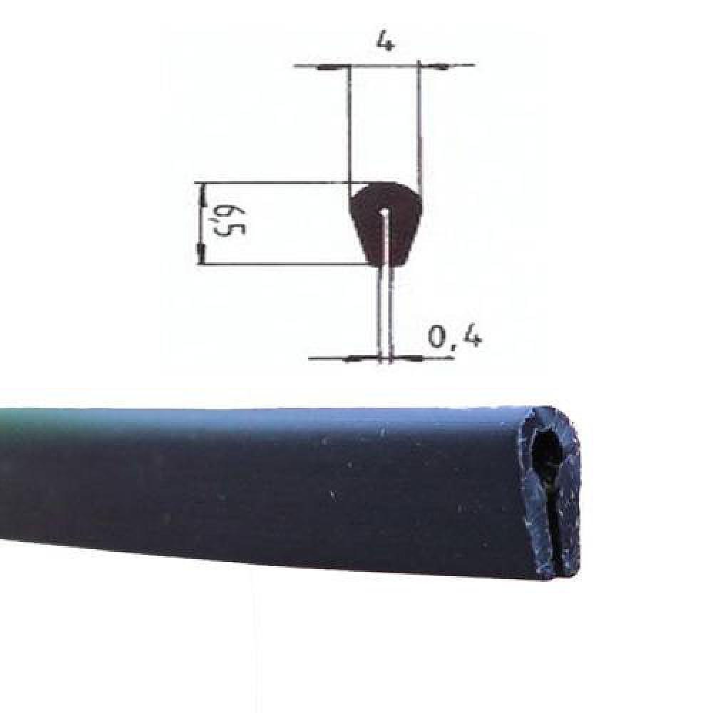 kantenschutz kso4004 schwarz 0 4 1 5 mm. Black Bedroom Furniture Sets. Home Design Ideas