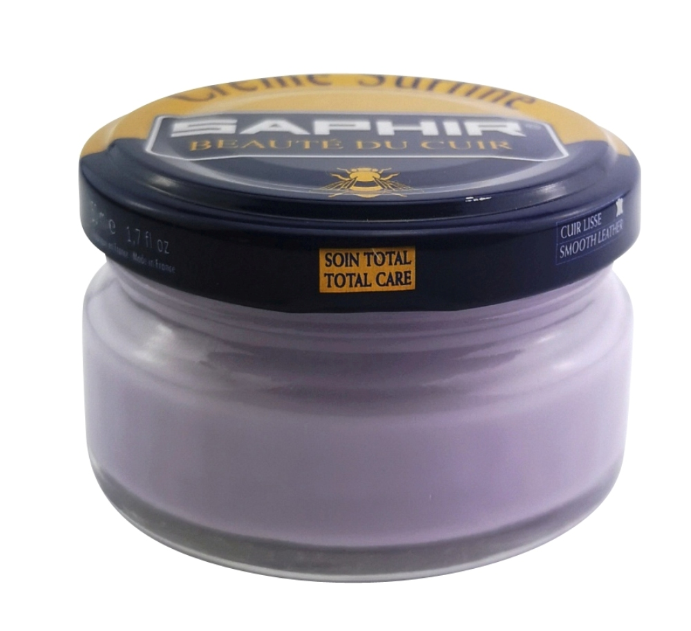 Saphir Creme Surfine 50 ml Farbe: Parme-Light Violet