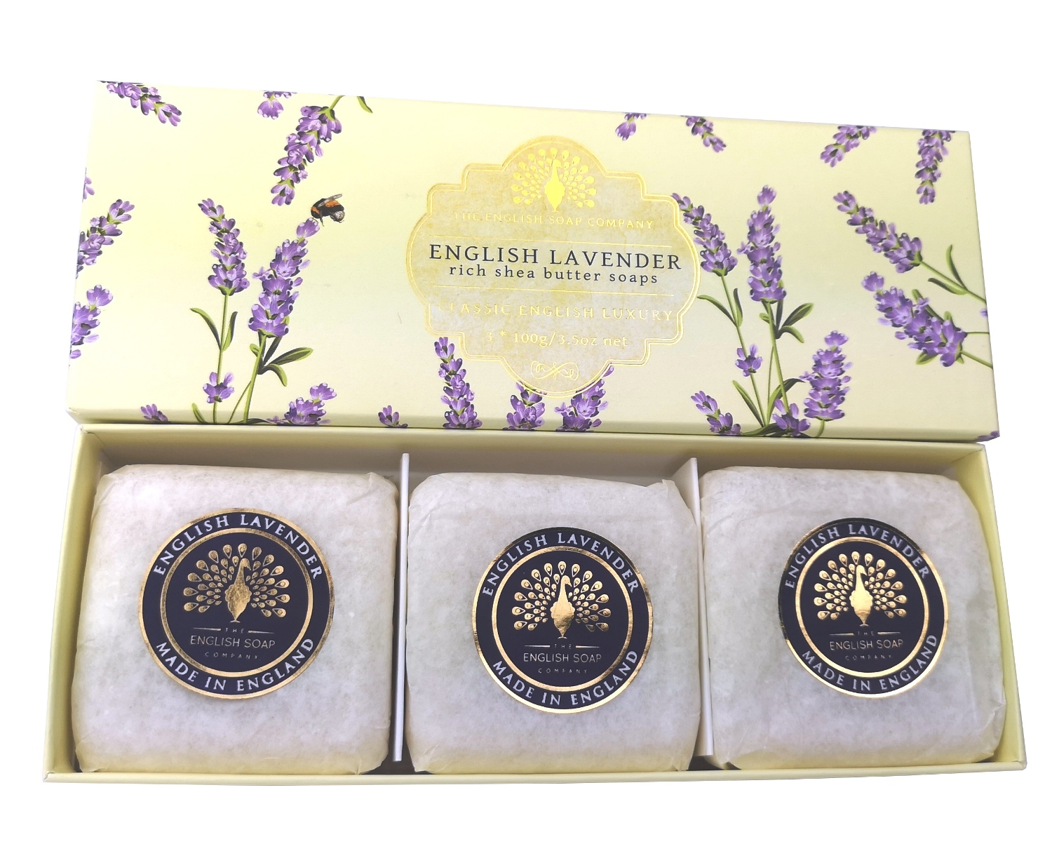 THE ENGLISH SOAP COMPANY Luxury Shea Butter Soap