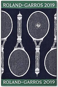 Wimbledon 2019 Damen /& Herren on Court Player Towel Tennis Handtuch 2er Set
