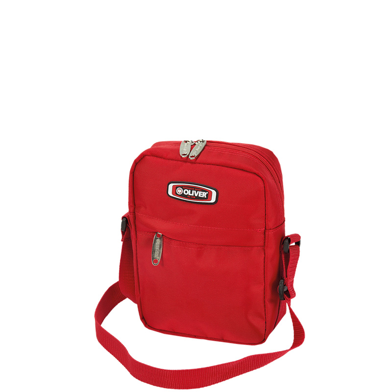 Oliver Messengerbag Schultertasche rot
