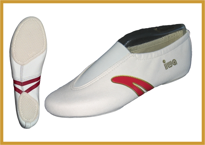 IWA 502 artistic gymnastic shoes made in Germany