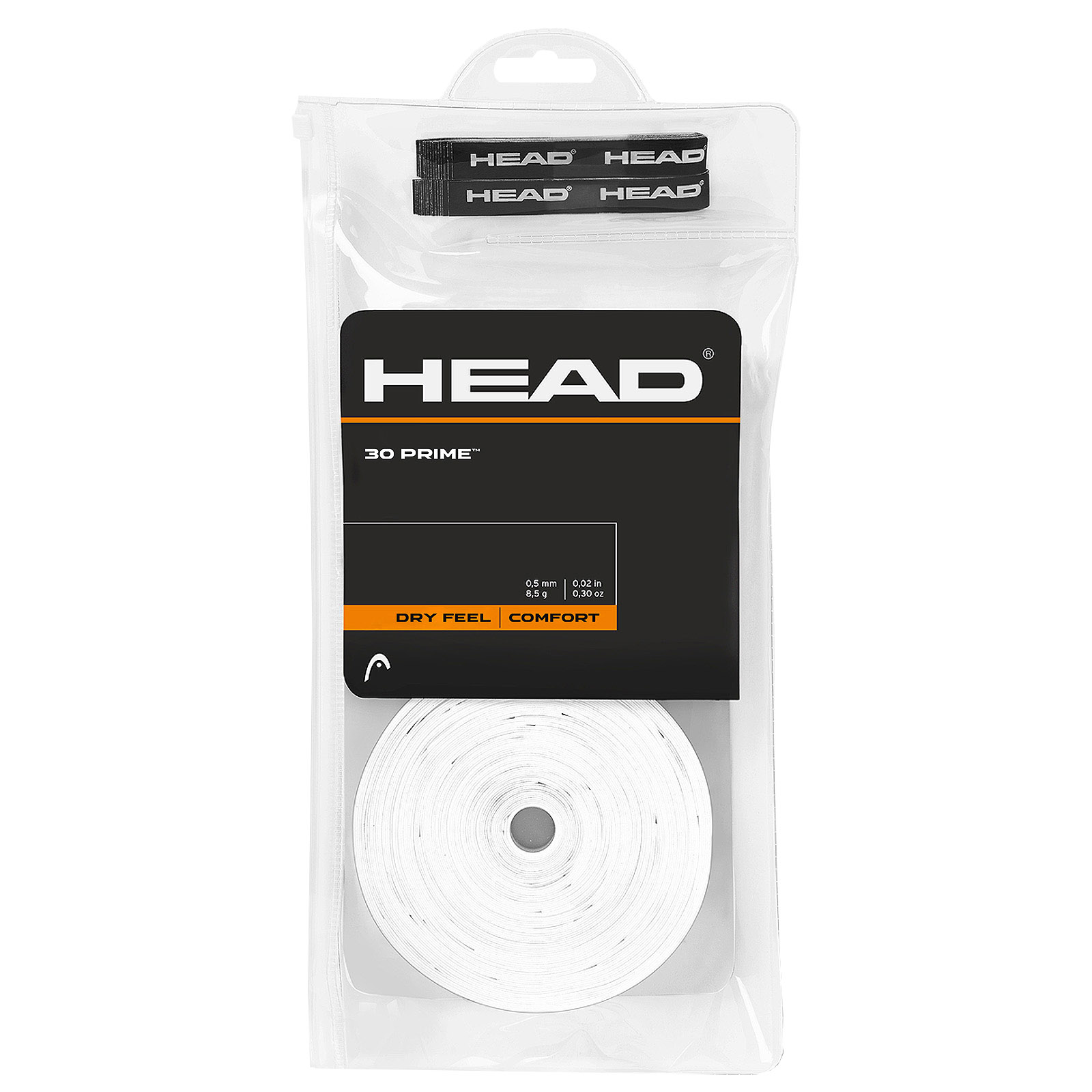 Head Xtreme Soft Overgrip 30 Grips white Tennis Squash Badminton