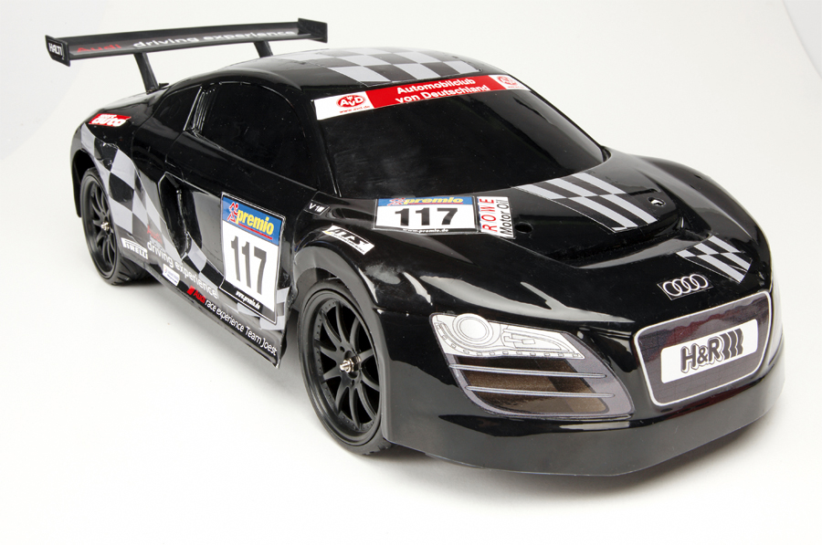 dickie rc audi r8 24h nbr lms 1 10 remoto auto juguetes. Black Bedroom Furniture Sets. Home Design Ideas