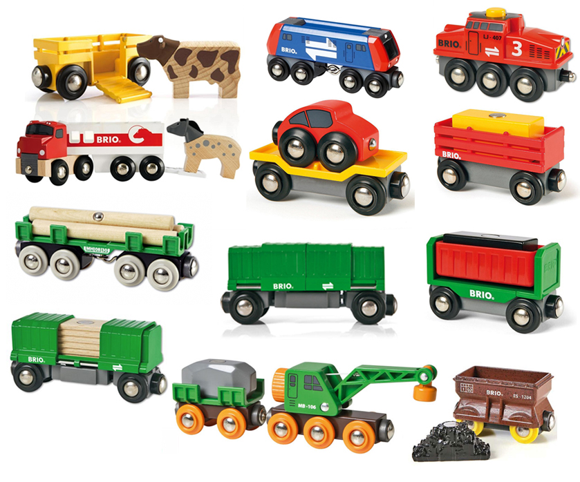 brio waggons und zubeh r spielzeug frachtlok holzeisenbahn lokomotive waggon ebay. Black Bedroom Furniture Sets. Home Design Ideas