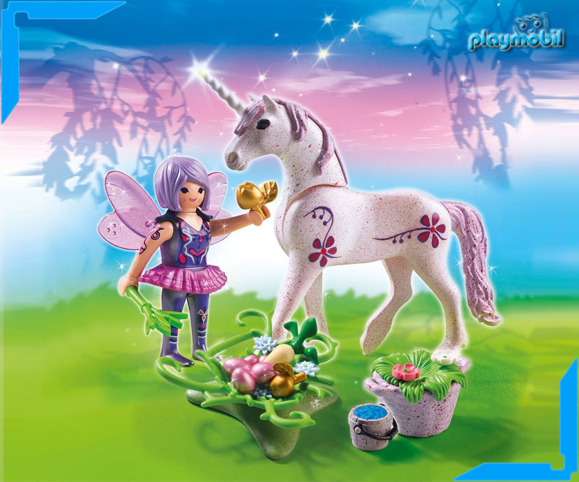 playmobil feen mit einhorn 5440 5441 5442 5443 ab 4 jahren fairies figuren ebay. Black Bedroom Furniture Sets. Home Design Ideas