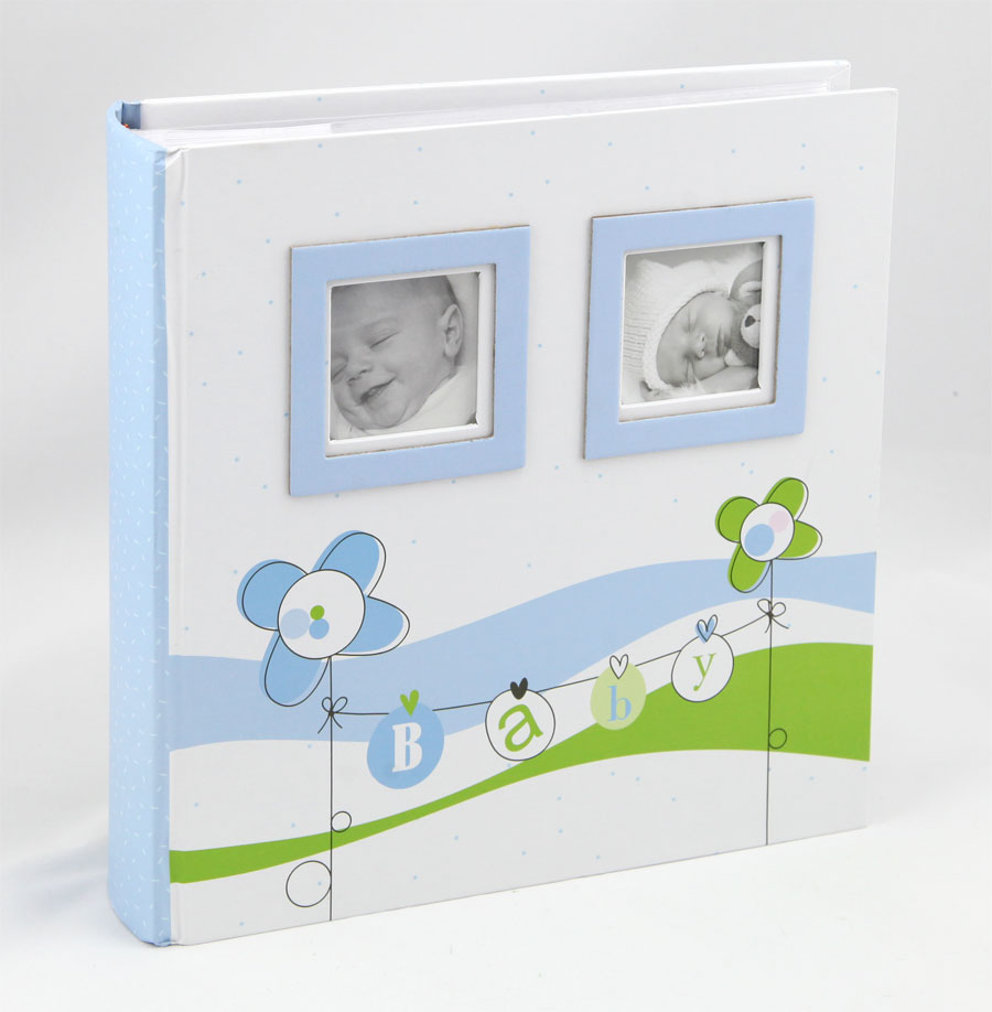 lucky baby fotoalbum f r 200 fotos in 10x15 cm kinder foto. Black Bedroom Furniture Sets. Home Design Ideas
