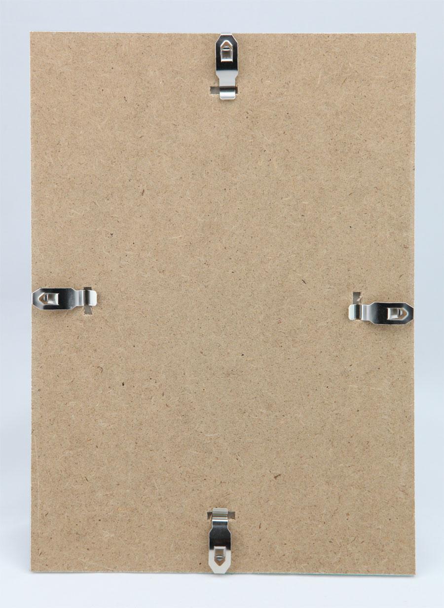20x Bilderrahmen Rahmenlos Bildhalter CLIP Rahmen DIN A4 21x30 cm 21x29,7 cm