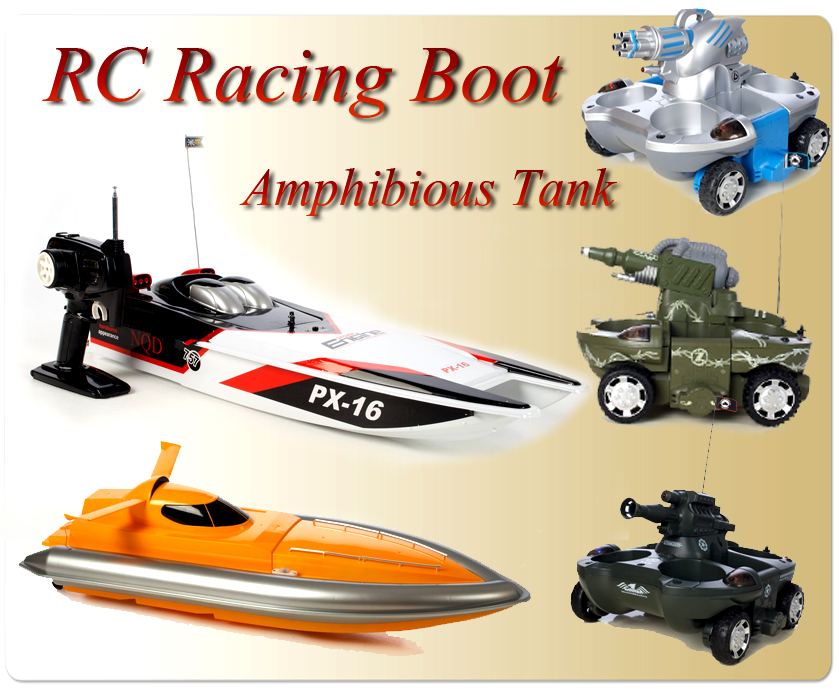 rc boot schiff amphibienfahrzeug land wasser tank. Black Bedroom Furniture Sets. Home Design Ideas