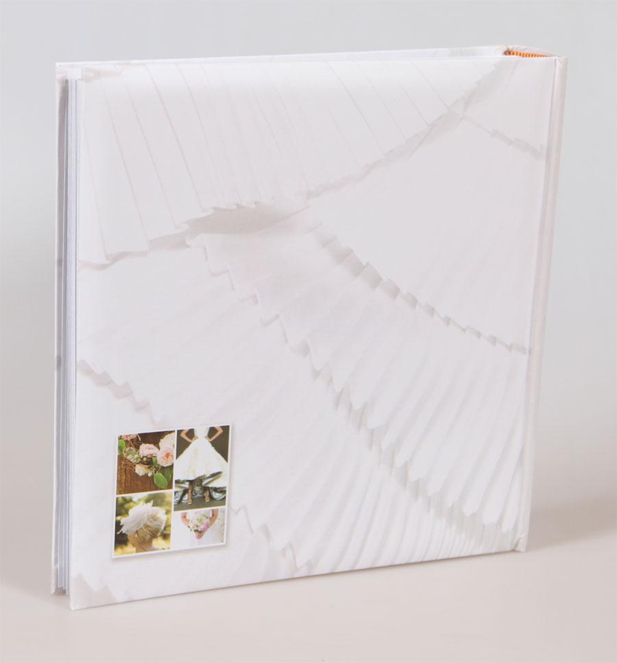 Wedding II Fotoalbum in 30x30 cm 100 weiße Seiten Hochzeit Foto Album