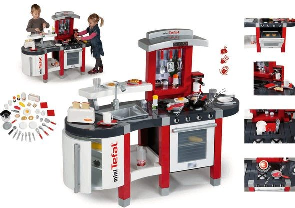 smoby 24667 tefal super chef excellence spielküche küche ab 3 ... - Smoby Küche Tefal