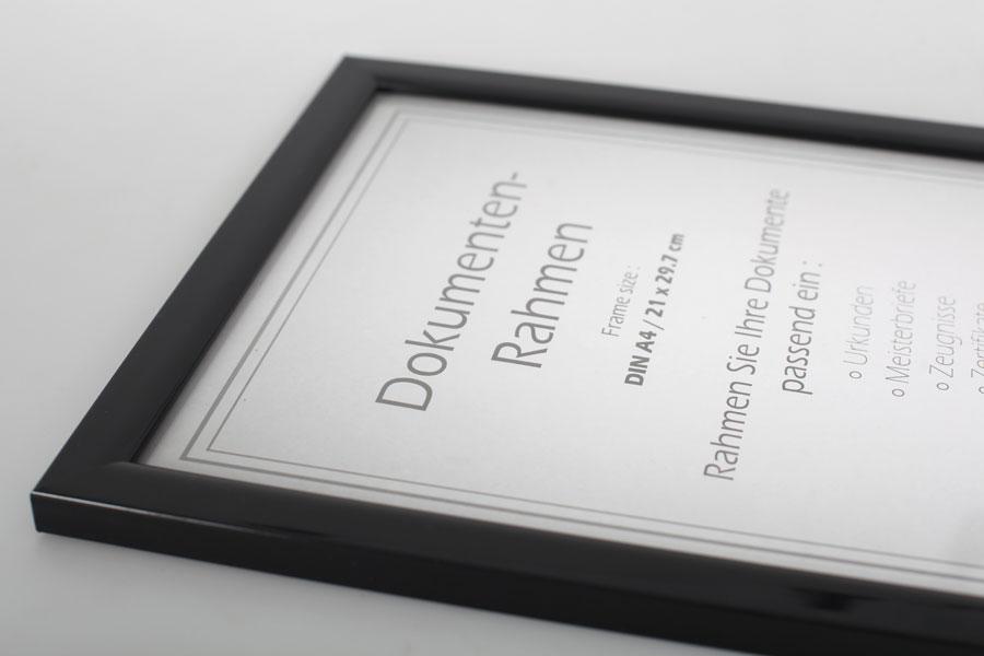 Rechteckige Deko-Bilderrahmen aus Kunststoff Rahmenbreite 15-30cm ...