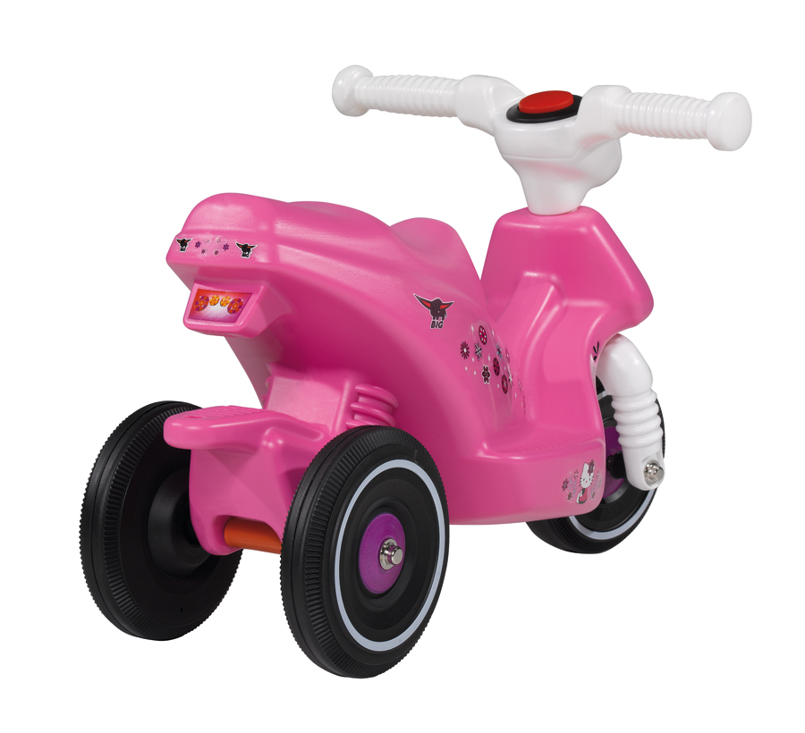 big bobby scooter hello kitty ab 18 monaten kinder roller. Black Bedroom Furniture Sets. Home Design Ideas