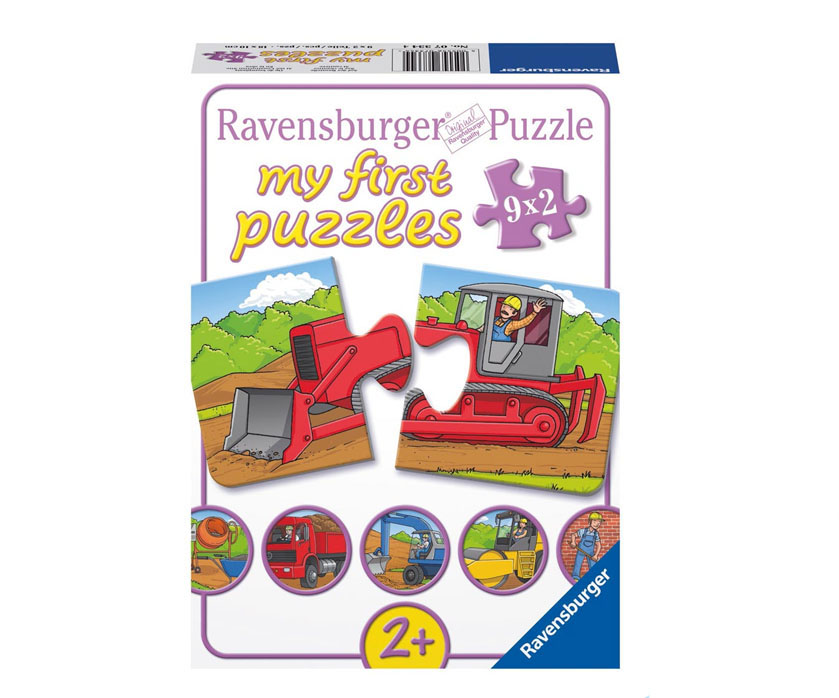 my first puzzle von ravensburger ab 2 jahre kinderpuzzle erste puzzle ebay. Black Bedroom Furniture Sets. Home Design Ideas