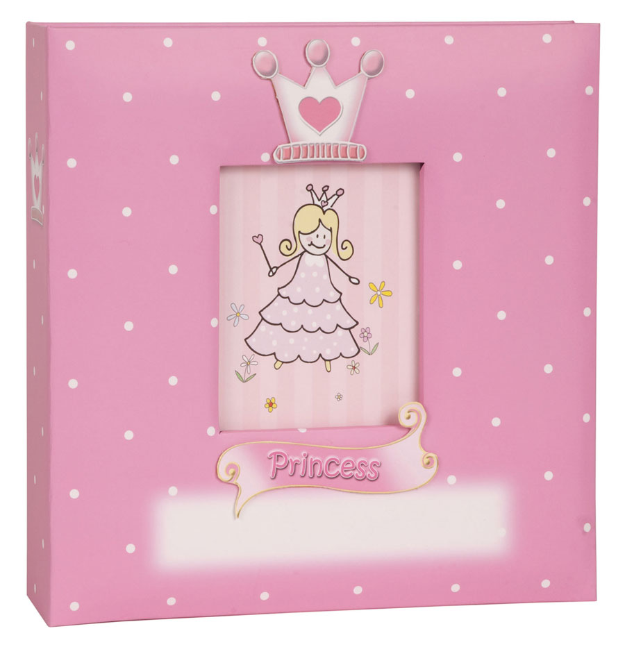prince princess fotoalbum f r 200 fotos in 10x15 cm kinder einsteck album ebay. Black Bedroom Furniture Sets. Home Design Ideas
