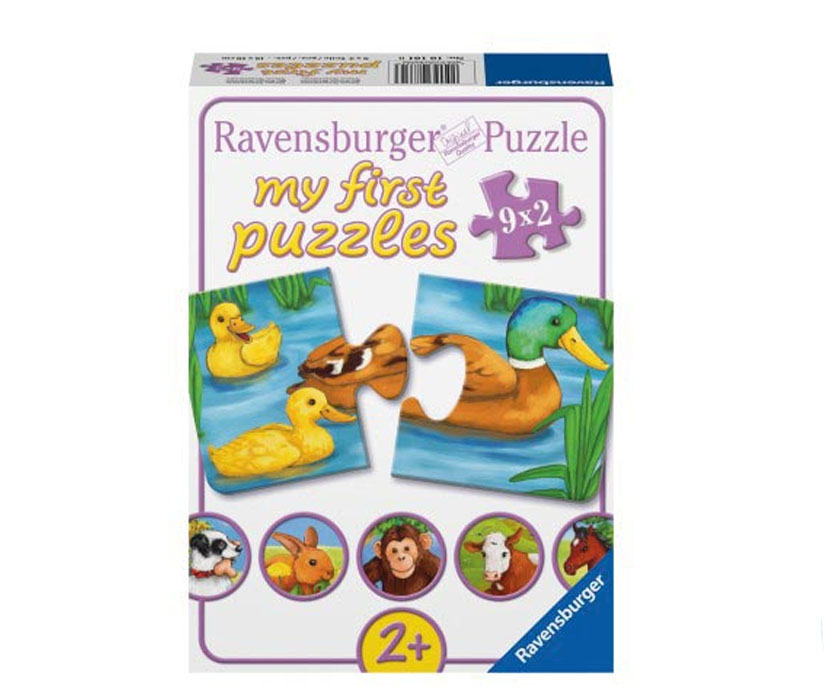 my first puzzle von ravensburger ab 2 jahre kinderpuzzle. Black Bedroom Furniture Sets. Home Design Ideas