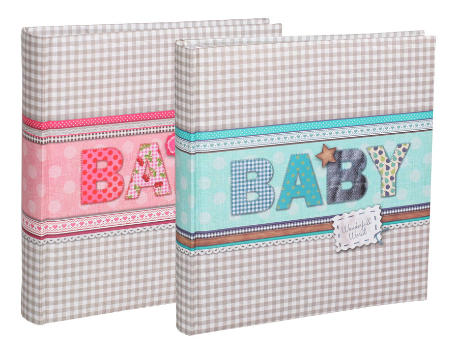 2x fotoalbum country baby f r 200 fotos in 13x18 cm. Black Bedroom Furniture Sets. Home Design Ideas