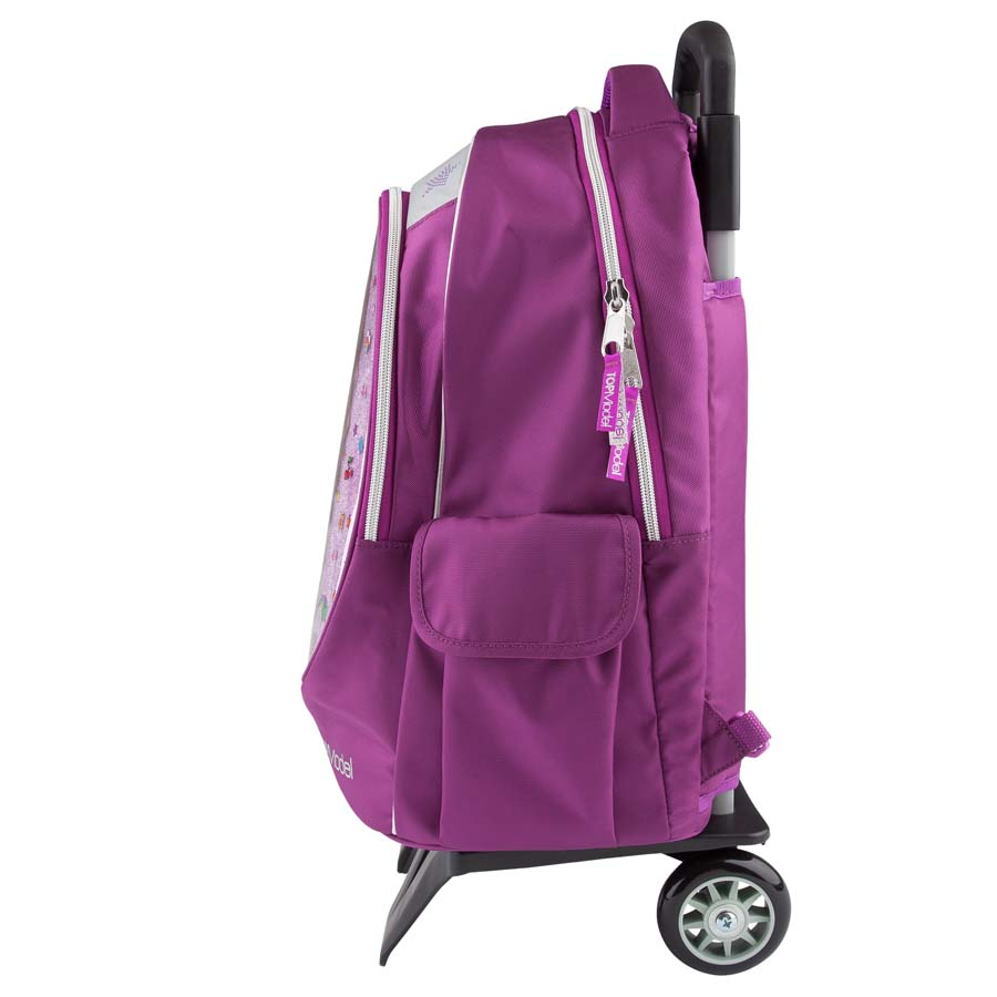 depesche topmodel hayden schulrucksack trolleyrucksack trolley rucksack pink. Black Bedroom Furniture Sets. Home Design Ideas
