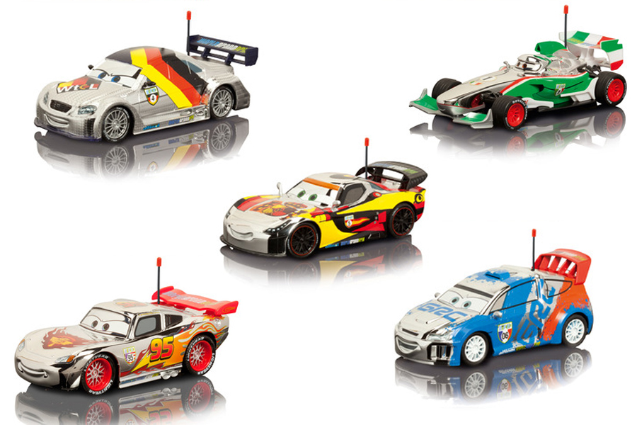 disney pixar cars 2 rc autos rennwagen spielzeug. Black Bedroom Furniture Sets. Home Design Ideas