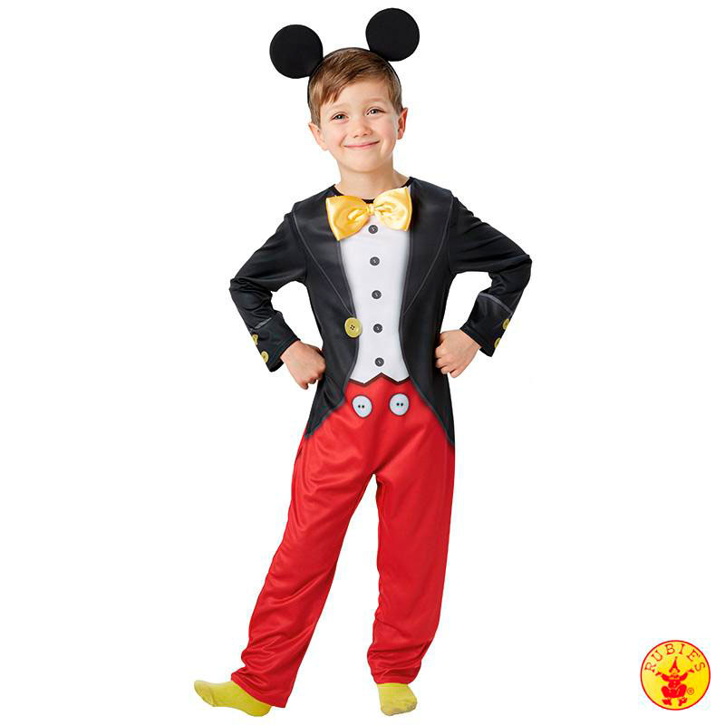 rubies disney mickey mouse tuxedo kinder jungen kost m fasching maus smoking ebay. Black Bedroom Furniture Sets. Home Design Ideas