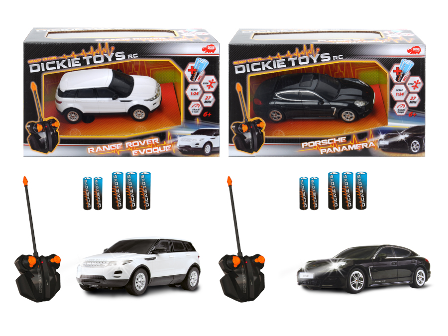 dickie rc dream car 1 24 sortiert ferngesteuertes auto. Black Bedroom Furniture Sets. Home Design Ideas