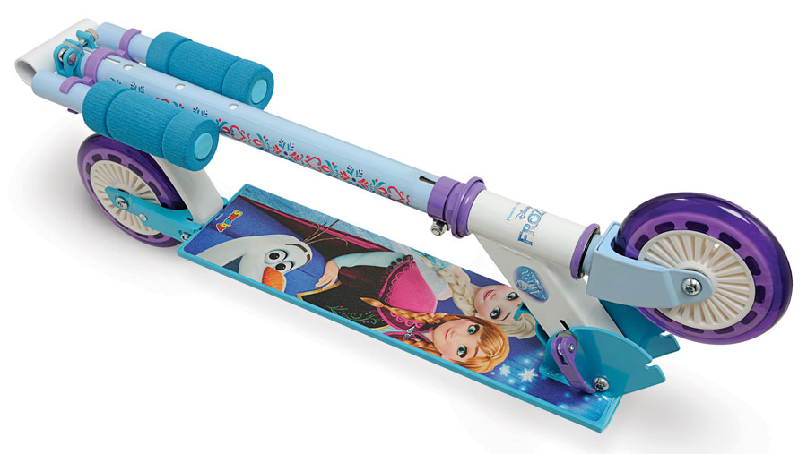 alu scooter disney frozen roller tretroller cityroller kinderroller bis 50 kg ebay. Black Bedroom Furniture Sets. Home Design Ideas