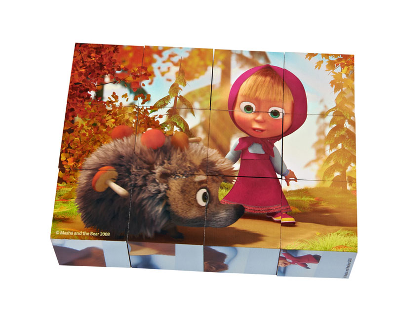 mascha und der b r masha i medved masha and the bear misha bilder w rfel ebay. Black Bedroom Furniture Sets. Home Design Ideas