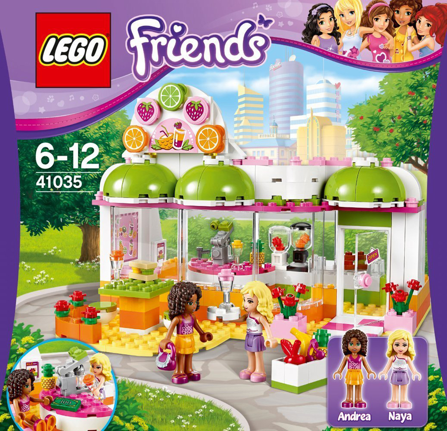 lego friends 41035 heartlake saft smoothiebar ab 6 jahren m dchen spielzeug ebay. Black Bedroom Furniture Sets. Home Design Ideas